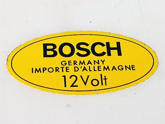 Sticker Bobine Bosch 12 Volt
