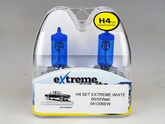 H4 lamp SET EXTREME WHITE!