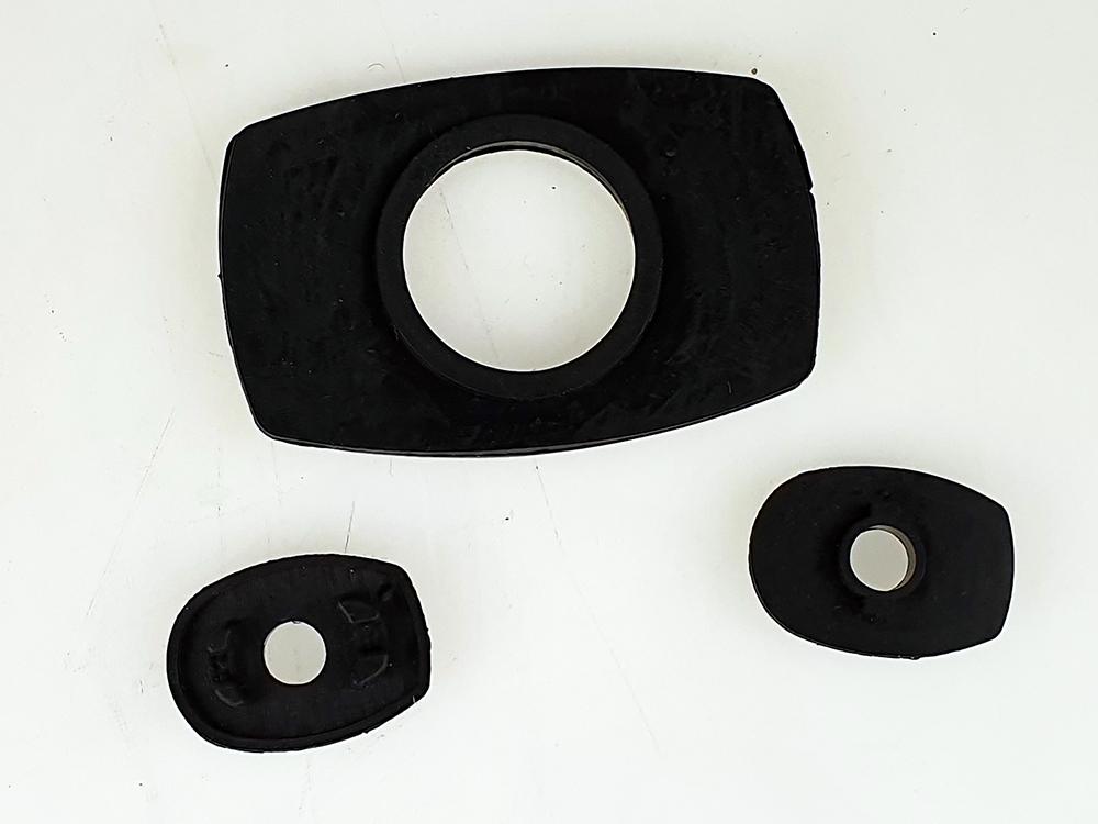 rubberset achterklepgreep P1800ES