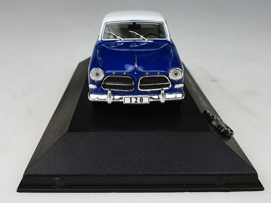 Atlas model nr 02 Volvo Amazon Blauw / Wit