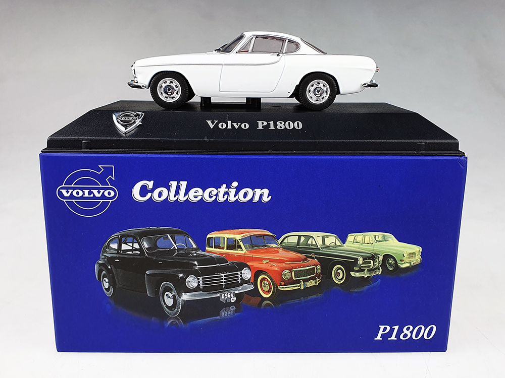 Atlas model nr 03 Volvo P1800 wit