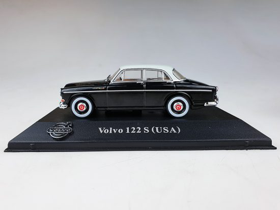 Atlas model nr 85 Volvo Amazon USA Zwart / Lichtgrijs