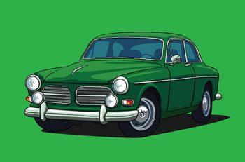 Poster Volvo amazon