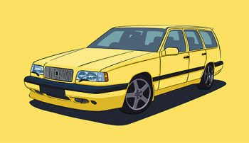 Poster Volvo 850