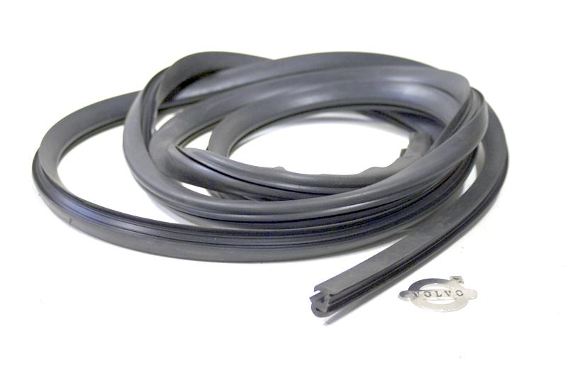 Zijraam / zijruit rubber per meter  volvo