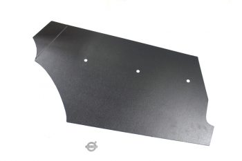 Kofferbak karton zijkant zwart
