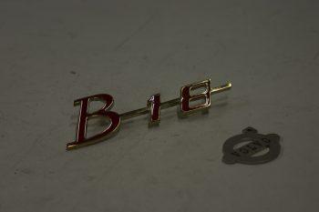 Embleem grille B18 groot