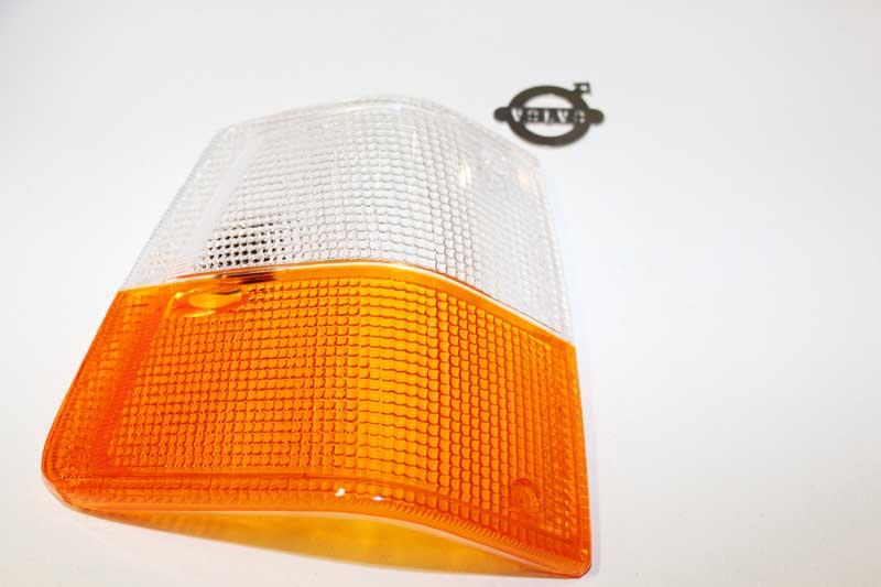 RAW glas RV Cibie oranje/wit