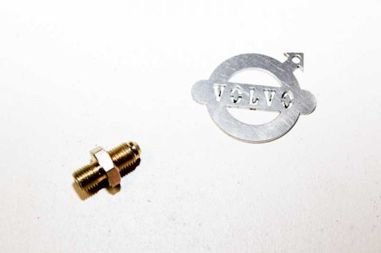 Verloopnippel hoofdremcilinder / remklauw