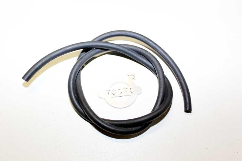 Vacuumslang 4 mm. per meter