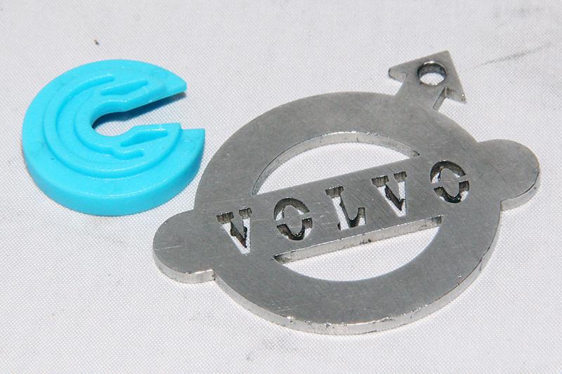 Distributie spanner ring blauw; 10V