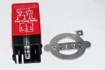 Brandstofpomp relais rood