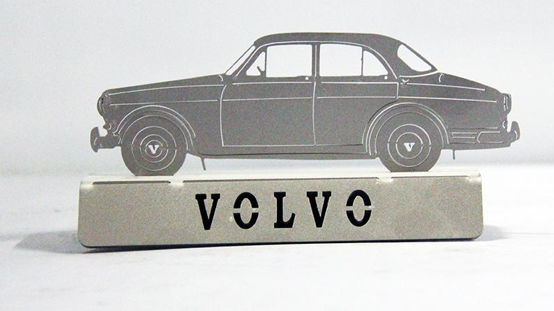 Miniatuur RVS Volvo Amazon