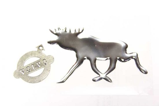 chrome eland sticker volvo klassiekers