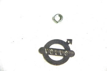 remslangmoer unf 3/8 plat