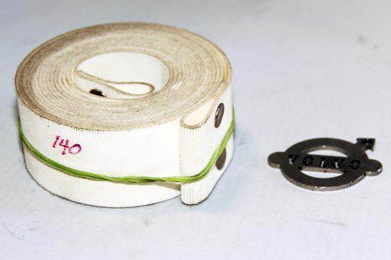 Stoelband zitting 140