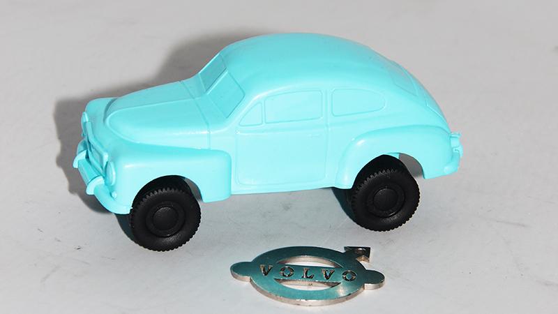 Plastic model 444 blauw