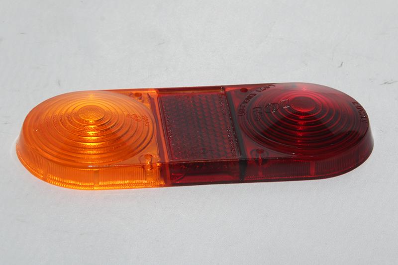 Achterlicht glas Rood / Oranje