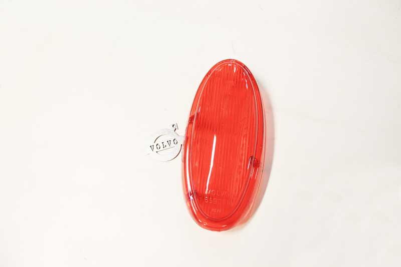 Achterlichtglas helemaal rood