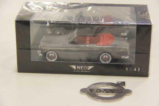 Volvo klassiekers amazon coune cabrio grijs
