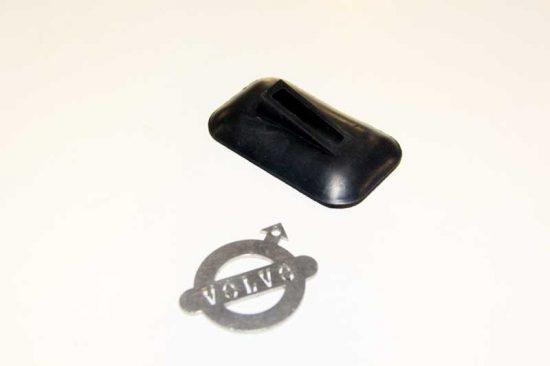 Bumpersteun rubber Voorzijde PV
