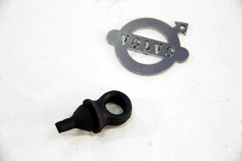 Handremkabel rubber