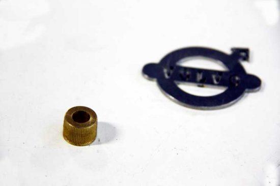 Ruitenwisseras ribbelbusje 8 mm