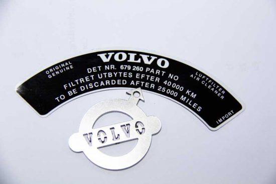 Sticker luchtfilter Stromberg