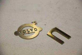 Stelplaat vooras 3 mm