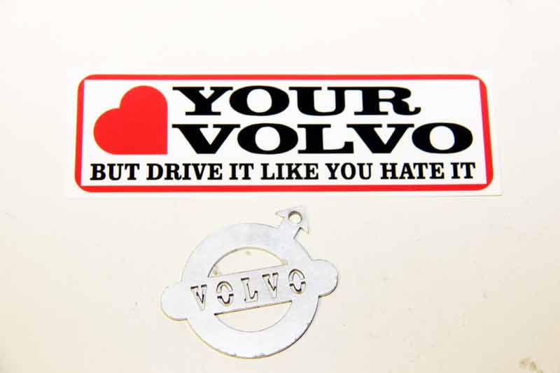Sticker LOVE YOUR VOLVO volvo klassiekers