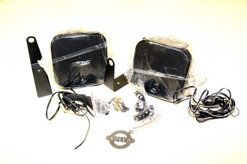 Opbouw luidsprekers 80 Watt
