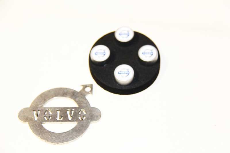Ventieldop SET met VOLVO logo