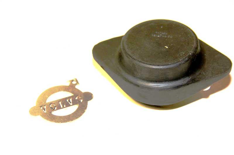 Veerschotel rubber achteras