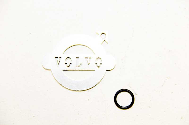 O-ring oliekoeler automaat