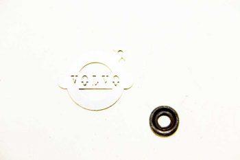 Spruitstuk ring met revet ORIGINEEL