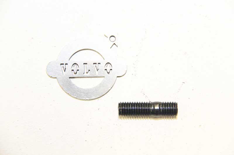Tapeind Spruitstuk M10 40 mm.