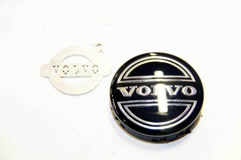 Naafdop zwart, origineel Volvo. set van 4 stuks. 850, 900, C70, S40, S40 V40 , S60 , S70 V70 , S80, S90 V90, V50, V70 P26, XC70 , XC90