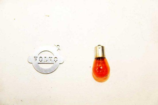 Lampje knipperlicht oranje
