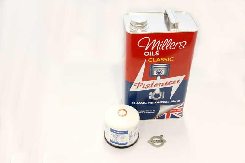 Millers Olie met filter en carterplugring