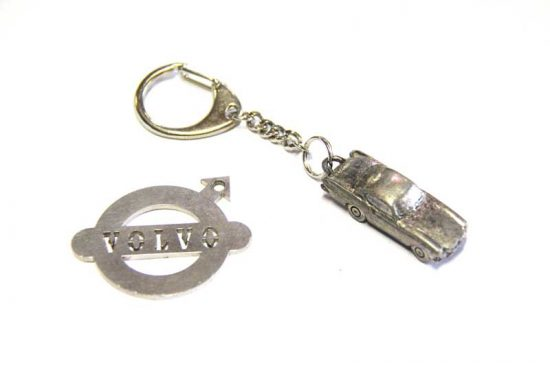 sleutelhanger p1800 volvo klassiekers