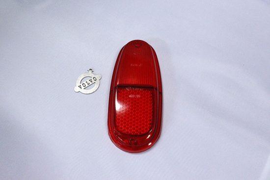 Achterlichtglas rood 544
