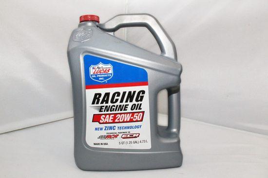 LUCAS Racing Engine Oil Mineraal 20W50