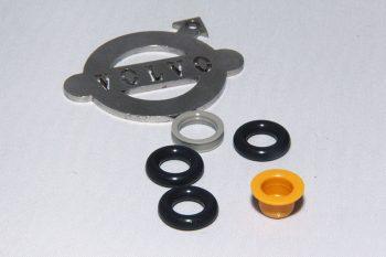 Injector rubber set. Origineel VOLVO
