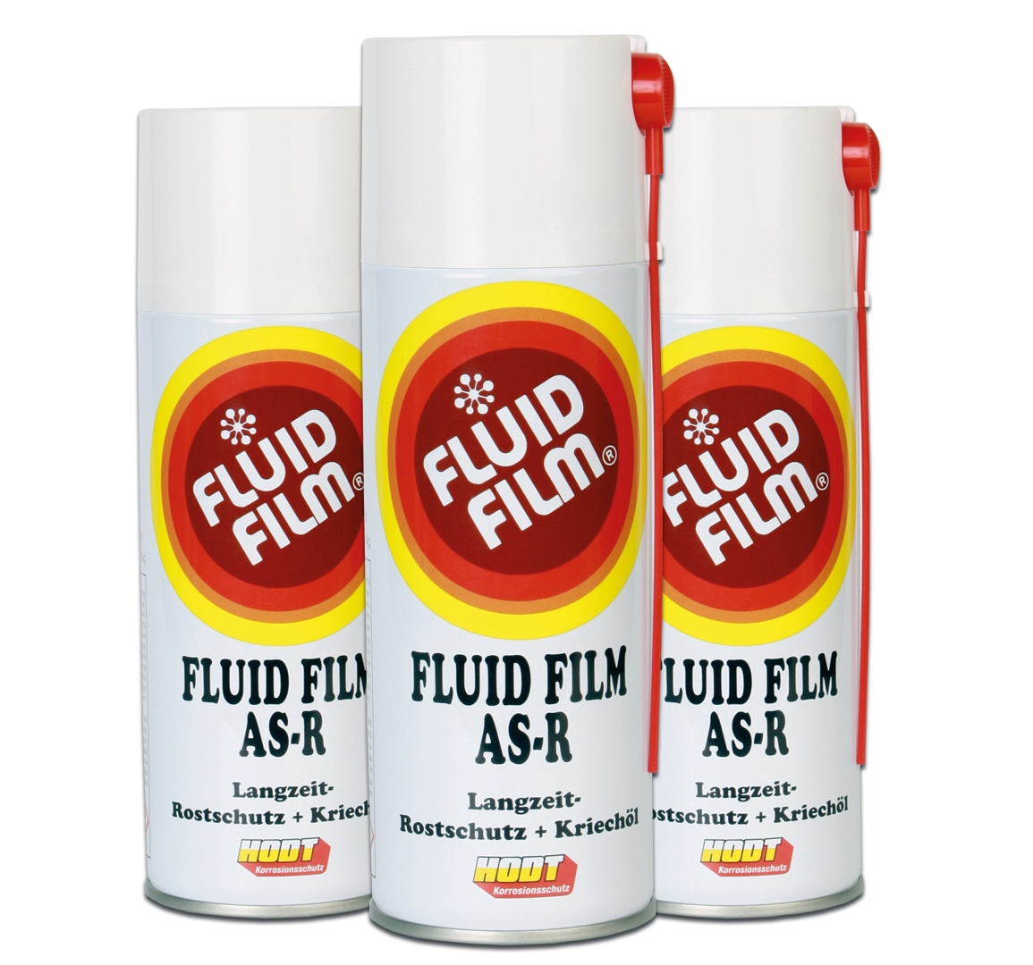 3 x Fluid Film AS-R + holleruimteslang
