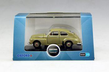 Volvo 544 1:76 Groen/geel