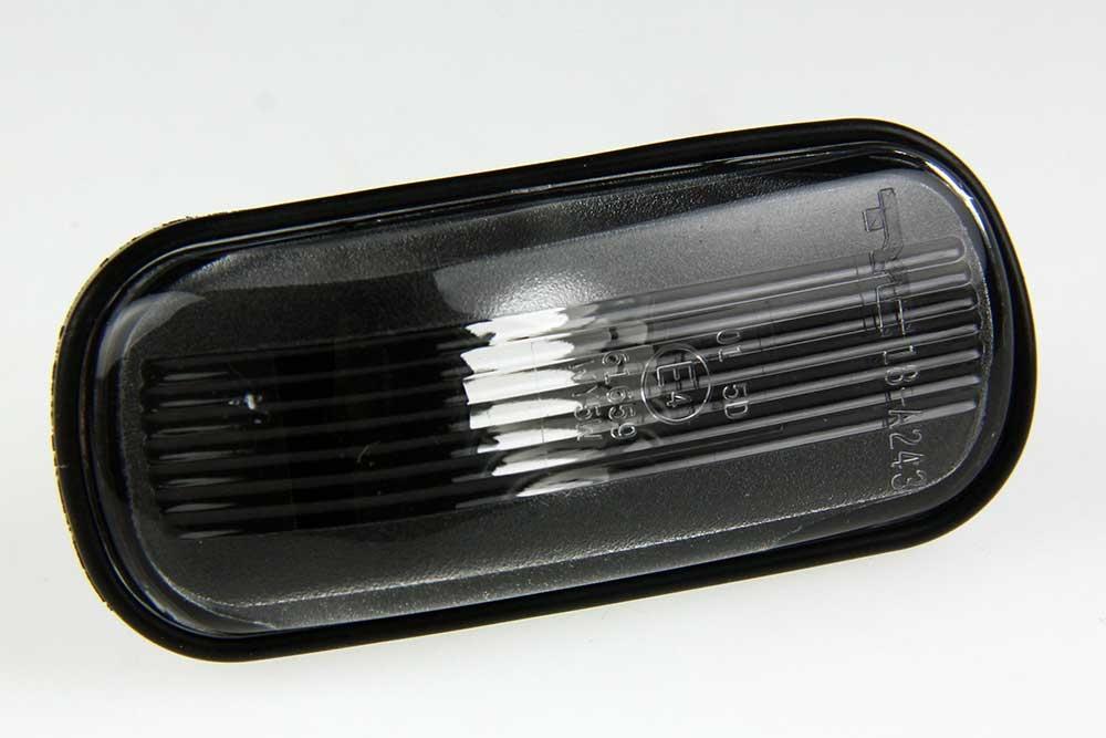 Knipperlicht zijscherm wit SAAB