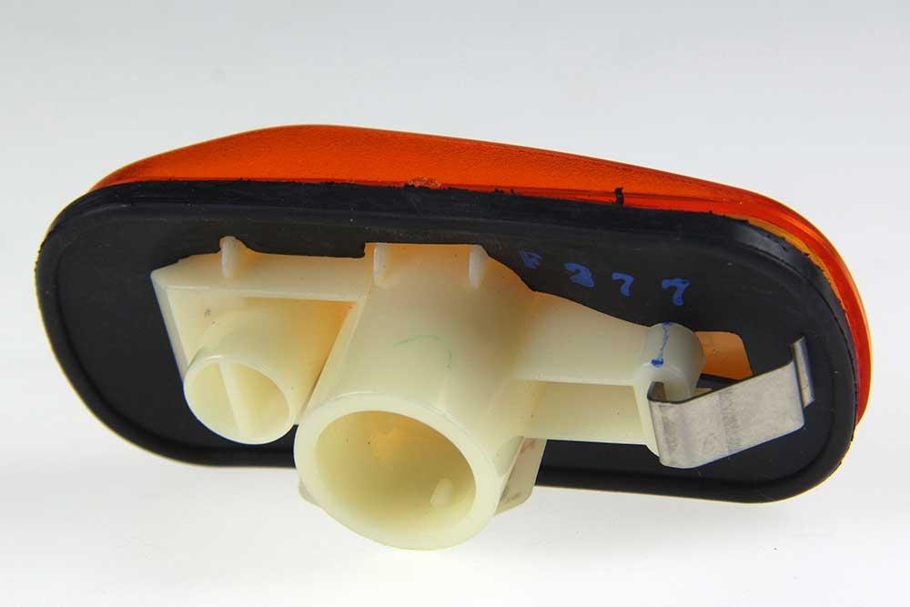 Knipperlicht zijscherm oranje SAAB