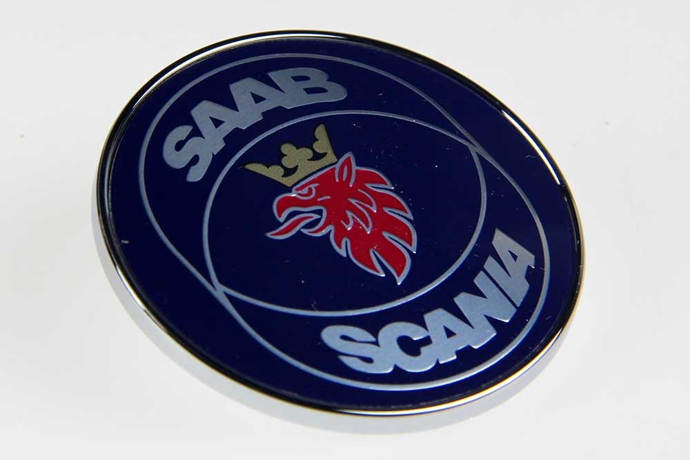 Embleem motorkap SAAB 9-3, 900, 9000
