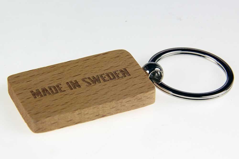 """Sleutelhanger """"Made in Sweden"""""""