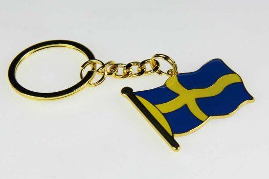 Sleutelhanger Zweedse vlag